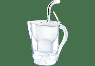 BRITA 100926 MARELLA XL WEISS + 2 MAXTRA+ Tischwasserfilter, Weiß