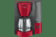 BOSCH TKA6A044 ComfortLine Kaffeemaschine Rot/Anthrazit