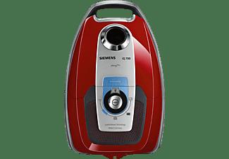 SIEMENS VSC7AC342 Staubsauger, maximale Leistung: 650 Watt, Rot/Schwarz)
