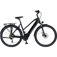 PROPHETE ENTDECKER 20.ETT.20 Trekkingrad (Laufradgröße: 28 Zoll, Rahmenhöhe: 52 cm, Damen-Rad, 576 Wh, Schwarz)