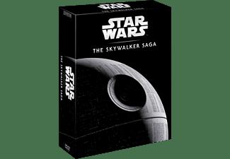 Pack Star Wars: La Saga Skywalker (Episodios I-IX) - DVD