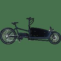 PROPHETE CARGO PLUS 20.ETL.10 Lastenrad (Laufradgröße: 26 Zoll, Rahmenhöhe: 48 cm, Unisex-Rad, 576 Wh, Schwarz)