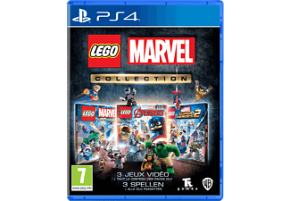 Lego Marvel Collection NL/FR PS4