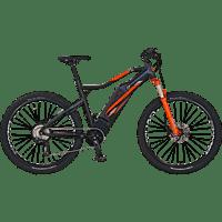 PROPHETE GRAVELER 20.ETM.30 Mountainbike (27,5 Zoll, 50 cm, MTB Hardtail, 614.5 Wh, Schwarz)