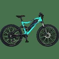 PROPHETE GRAVELER 20.EMM.10 Mountainbike (27.5 Zoll, 48 cm, MTB Fullsuspension, 499 Wh, Miami Blue)