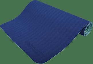 SCHILDKRÖT Fitness 4 mm BICOLOR-Navy/Mint Yogamatte, Navy/Mint