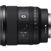 SONY SEL20F18G Vollformat - 20 mm f/1.8 G-Lens, IF, AA (Advanced Aspherical), ED, FHB, DMR, Circulare Blende (Objektiv für Sony E-Mount, Schwarz)