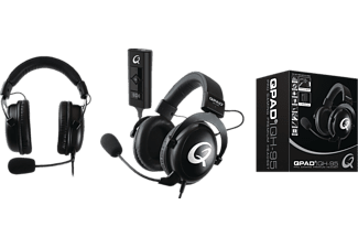 QPAD ® QH95, Over-ear Headset Schwarz