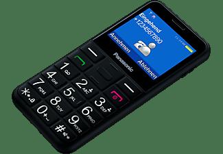 "Móvil - Panasonic KX-TU150EXB, TFT 2.4"", Teclas grandes, Botón SOS, Cámara, Dual SIM, Bluetooth, Negro"