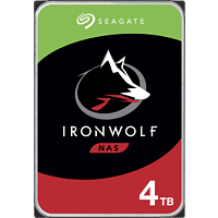 SEAGATE IronWolf, 4 TB, HDD, 3,5 Zoll, intern
