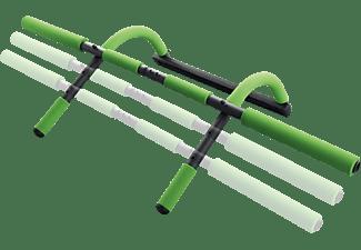 SCHILDKRÖT Fitness Multifunktionales 4-in-1 Türreck, Grün/Anthrazit
