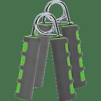 SCHILDKRÖT Fitness 2er Set Handmuskeltrainer, Grün/Anthrazit
