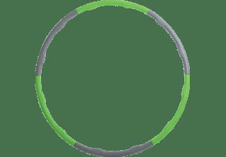 SCHILDKRÖT Fitness Power Ring Hula-Hoop Reifen, Grün/Anthrazit