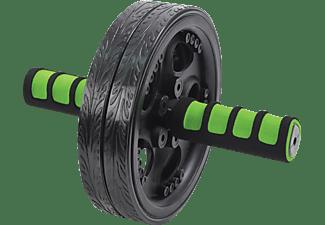 SCHILDKRÖT Fitness AB-Roller Bauchtrainer, Grün/Anthrazit