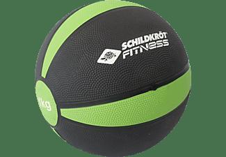 SCHILDKRÖT Fitness 1 kg Medizinball, Grün/Anthrazit