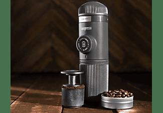 WACACO Nanopresso Barista Kit mit größerem Wassertank Grau