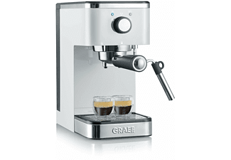GRAEF Siebträger-Espressomaschine Salita Espresso Weiß