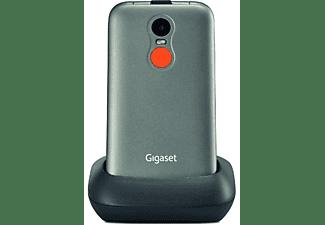 Móvil - Gigaset GL590, Teclas grandes, Botón SOS, Marcaciones directas, Bluetooth, Gris