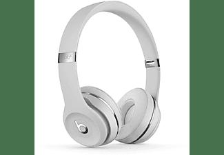 Auriculares inalámbricos - Beats SOLO3 WIRELESS SKINNY, Chip W1, Supresión de ruido, Hasta 40h, Satin Silver