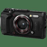 OLYMPUS TG‑6 Open Water Diver Kit Digitalkamera Schwarz, 4x (Weitwinkel) opt. Zoom, WLAN