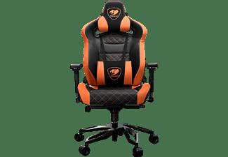 COUGAR ARMOR TITAN PRO Gaming Stuhl, Schwarz/Orange