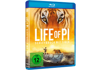 Life Of Pi – Schiffbruch mit Tiger Blu-ray