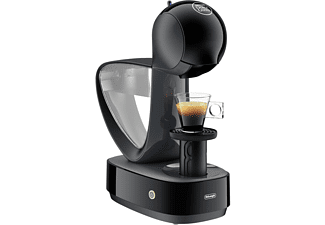 Cafetera de cápsulas - De Longhi EDG160.A Infinissima, Dolce Gusto, 15 bares, 1.2 L, Negro