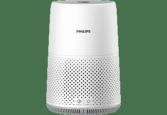 PHILIPS Series 800 AC0819 Luftreiniger Weiß/Wolkengrau (22 Watt, Raumgröße: 49 m², Hepa-Filter)