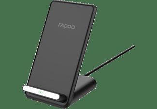 "RAPOO Kabelloser QI-Dual-Ladestand ""XC210"", 10W, Schwarz"