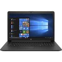 HP 17-by0344ng, Notebook mit 17,3 Zoll Display, Core™ i3 Prozessor, 8 GB RAM, 256 GB SSD, Intel® UHD Grafik 620, Schwarz