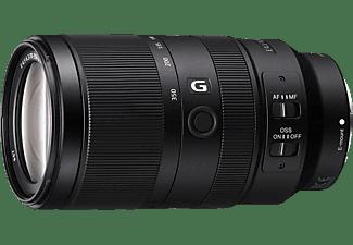 SONY SEL70350G 70 mm - 350 mm f/4.5-6.3 G-Lens, ED, ASPH, OSS, FHB, Circulare Blende, DMR (Objektiv für Sony E-Mount, Schwarz)