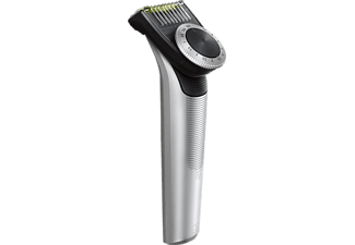 PHILIPS OneBlade Pro QP6620 Face+Body Trimmer, Schwarz/Silber