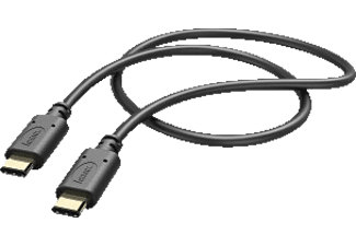 HAMA USB Typ C, Lade-/Datenkabel, 1 m, Schwarz