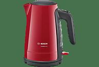BOSCH TWK6A014 ComfortLine Wasserkocher, Rot/Anthrazit