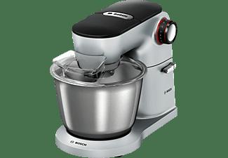 BOSCH MUM9D33S11 OptiMum Küchenmaschine Platin/Silber (Rührschüsselkapazität: 5,5 Liter, 1300 Watt)