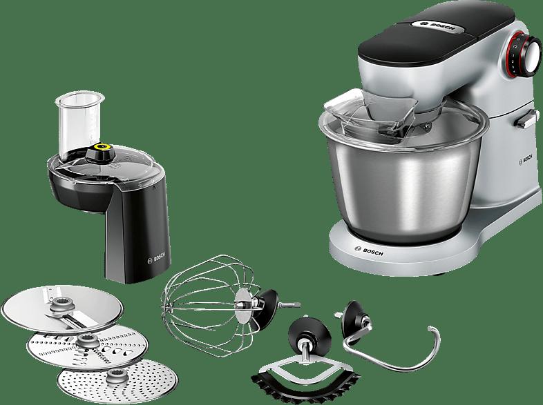 Kuchenmaschine Bosch Mum9d33s11 Optimum Kuchenmaschine Platin Silber Ruhrschusselkapazitat 5 5 Liter 1300 Watt Mediamarkt