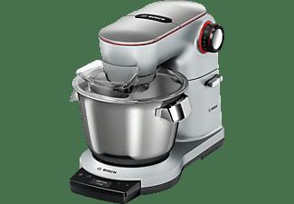 BOSCH E Küchenmaschine Platin/Silber (Rührschüsselkapazität: 5,5 Liter, 1500 Watt)