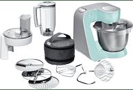 BOSCH MUM58020 CreationLine Küchenmaschine Türkis (Rührschüsselkapazität: 3,9 Liter, 1000 Watt)