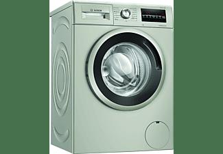 Lavadora carga frontal - Bosch WAN2427XES, 7 kg, 1200 rpm, Independiente, Acero inoxidable antihuellas