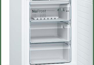Frigorífico Combi - Bosch KGN39VWDA, 203 cm, No Frost, 100 W, 50 Hz, Blanco