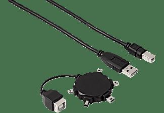 HAMA Mini USB, Anschluss-Set, Schwarz