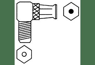 HAMA Push-On-F-Stecker - F-Kupplung, 90° SAT-Adapter