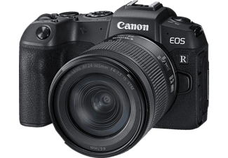CANON EOS RP Kit Systemkamera 26.2 Megapixel mit Objektiv 24-105 mm, 7,5 cm Display Touchscreen, WLAN