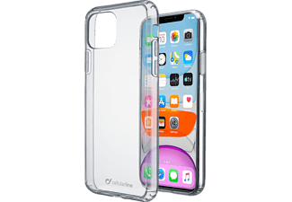 CELLULARLINE Cover Clear Duo iPhone 11 Transparant (CLEARDUOIPHXR2T)