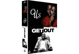 Jordan Pele's: Us + Get out - DVD