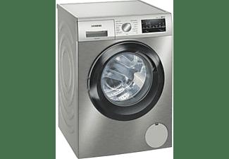 Lavadora carga frontal - Siemens WM14UT6XES, 9 kg, 1400 rpm, 10 programas, Programable, Inox