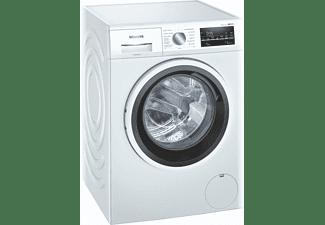 Lavadora carga frontal - Siemens WM14UT60ES, 9 kg, 1400 rpm, 10 programas, Programable, iQdrive, Inox