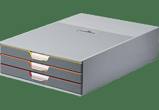 DURABLE VARICOLOR® 3 Schubladenbox Dunkelgrau