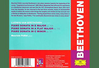 Maurizio Pollini - Beethoven: The Last Three Sonatas, Opp. 109-111  - (CD)