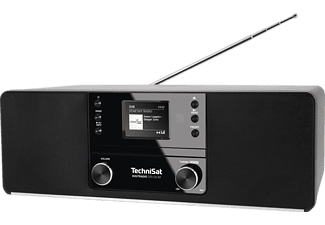 TECHNISAT DIGITRADIO 370 CD BT DAB+ Radio, DAB+, AM, FM, Bluetooth, Schwarz